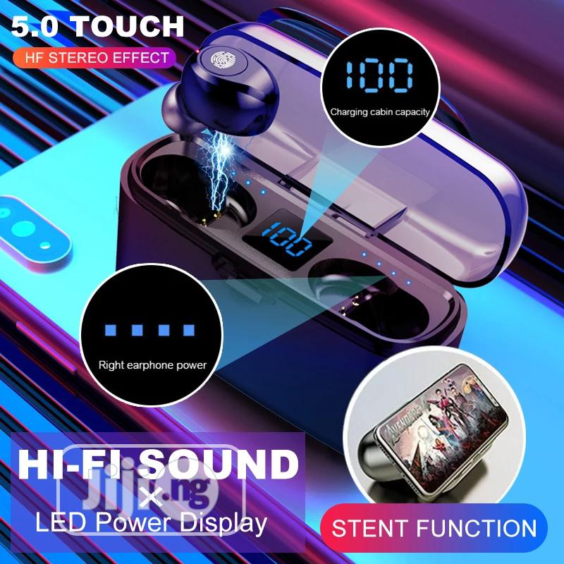 F9 Wireless Touch Earphone | Headphones for sale in Mushin, Lagos State, Nigeria