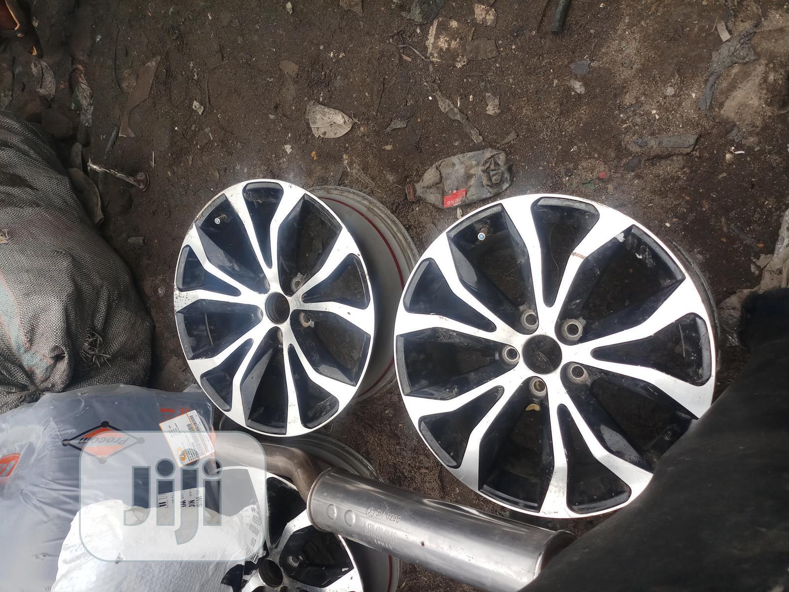 Alloyed Rims For All Model Of Vehicles
