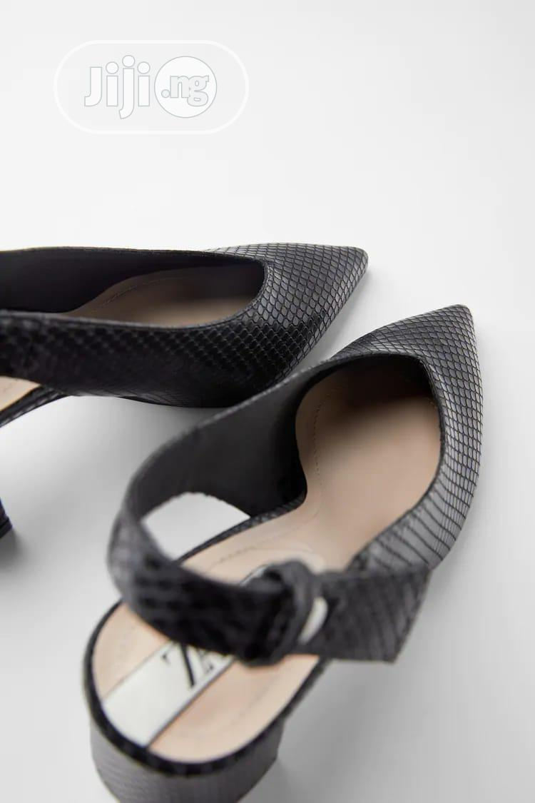 Archive: Animal Print Heeled Slingback Court Shoe