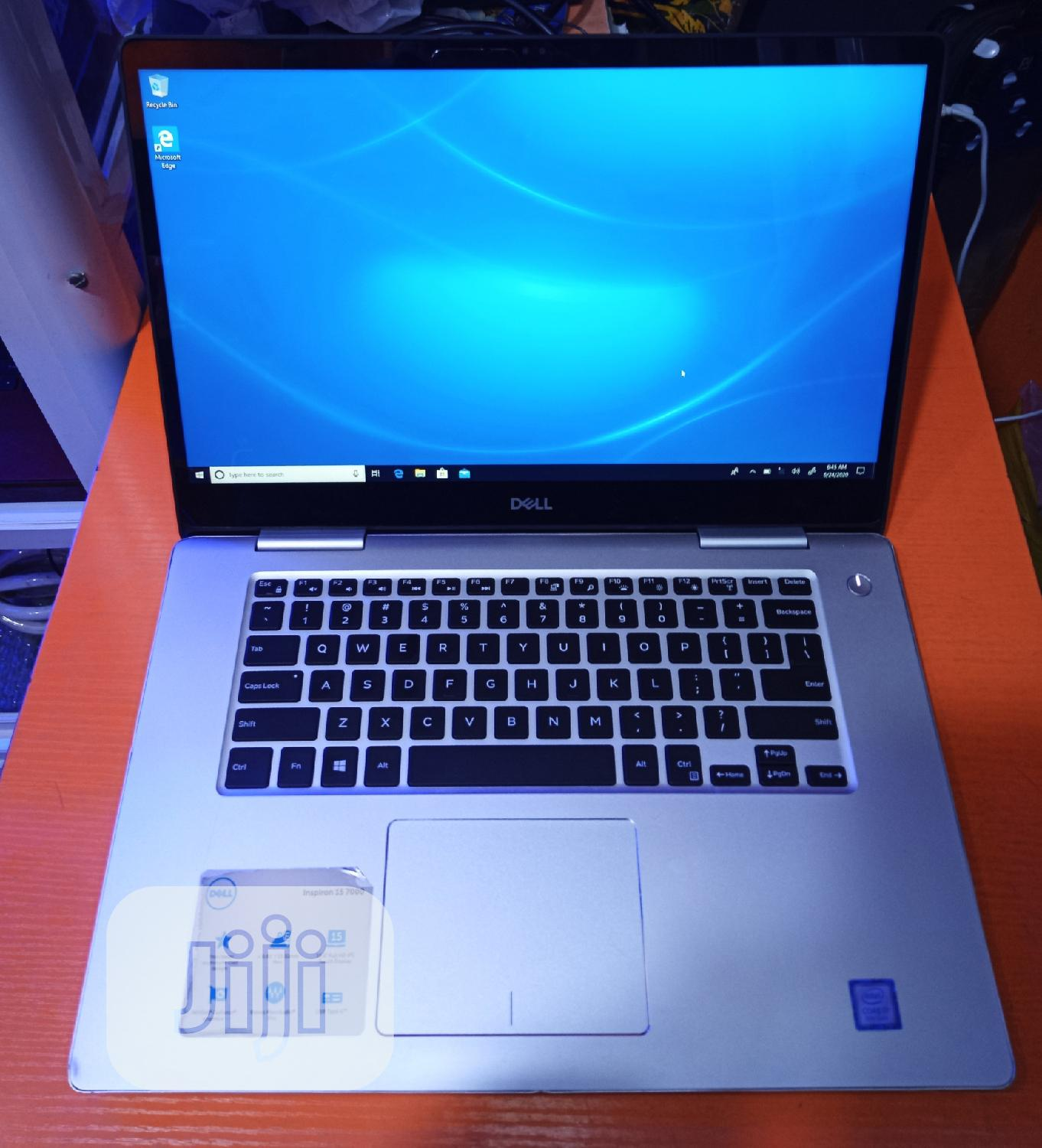 Laptop Dell Inspiron 15 7570 8GB Intel Core i7 HDD 1T   Laptops & Computers for sale in Ikeja, Lagos State, Nigeria
