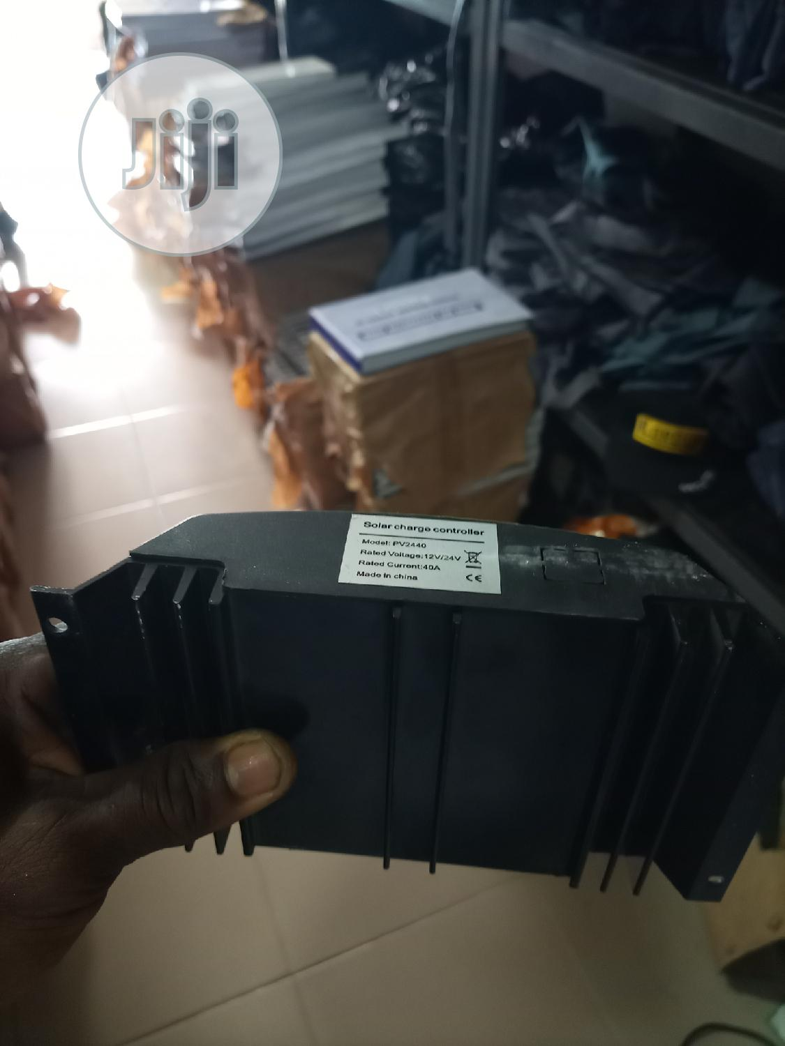 40amps 12v/24v, Solar Charger Controller . | Accessories & Supplies for Electronics for sale in Ajah, Lagos State, Nigeria