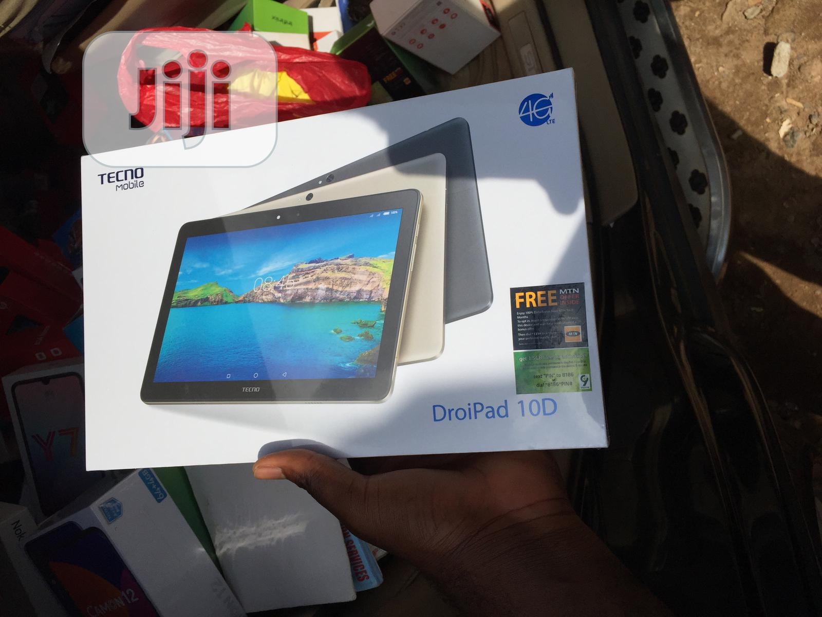 New Tecno DroiPad 10D 16 GB | Tablets for sale in Kubwa, Abuja (FCT) State, Nigeria