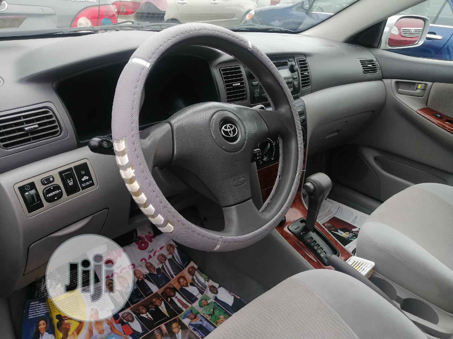 Toyota Corolla 2008 Silver | Cars for sale in Apapa, Lagos State, Nigeria