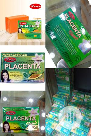 Renew Placenta Anti-aging Herbal Beauty Classic Soap. | Bath & Body for sale in Lagos State, Ojo