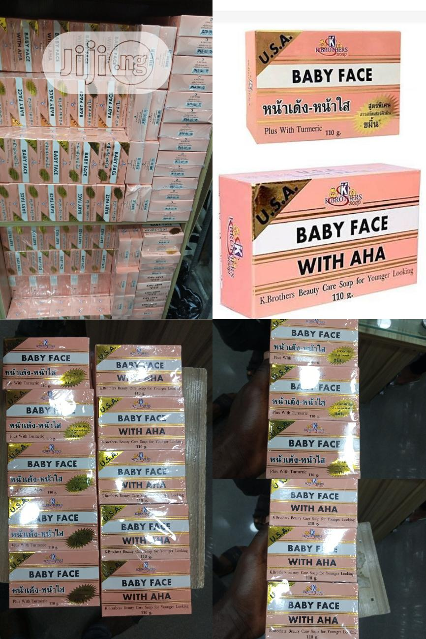 Baby Face Anti-aging Soap With Aha - 12pcs | Baby & Child Care for sale in Ojo, Lagos State, Nigeria