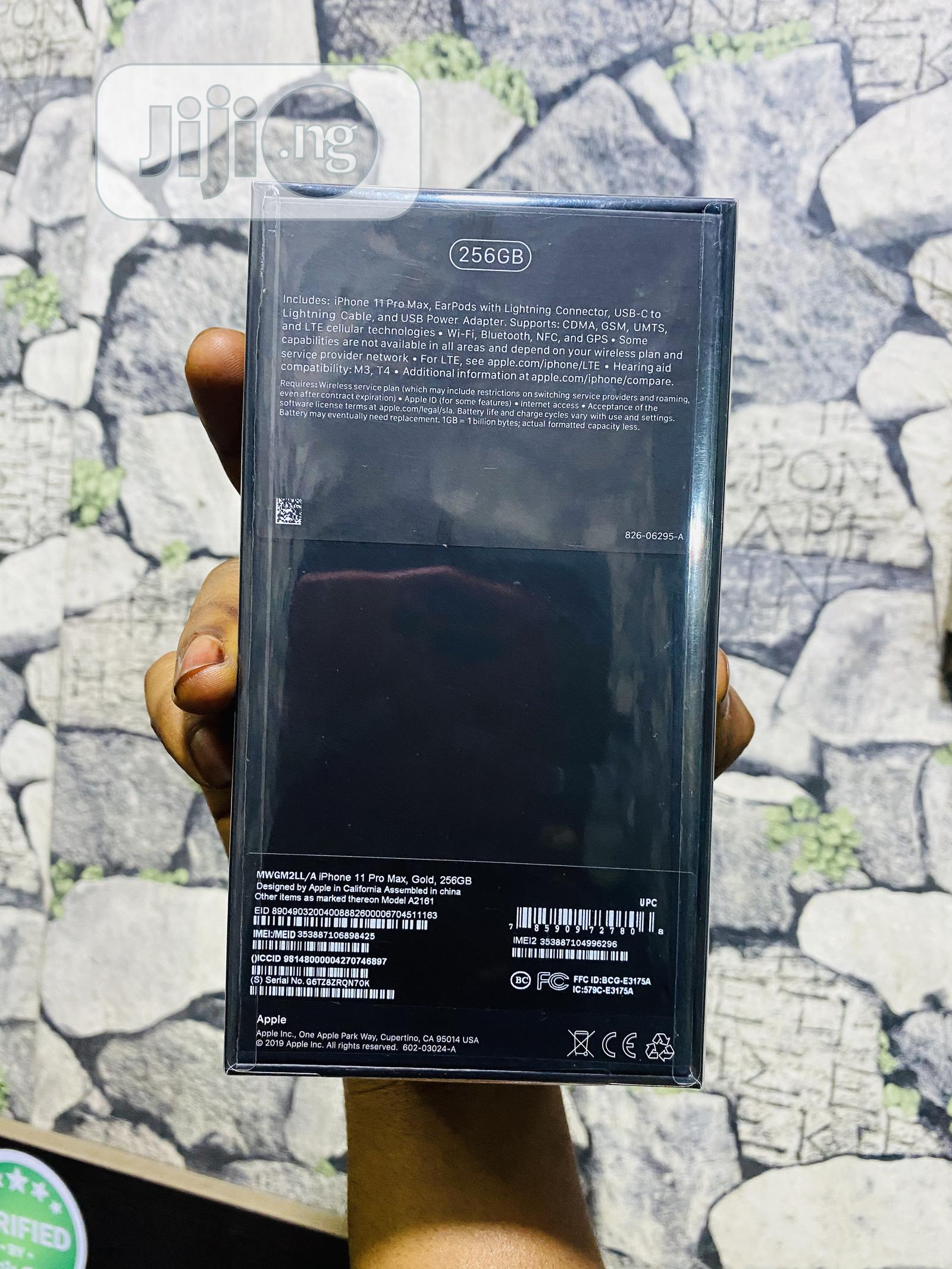 New Apple iPhone 11 Pro Max 256 GB Gold | Mobile Phones for sale in Ikeja, Lagos State, Nigeria