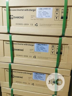 2.5kva 24v Diamond Pure Sine Wave Inverter Available | Solar Energy for sale in Lagos State, Lekki