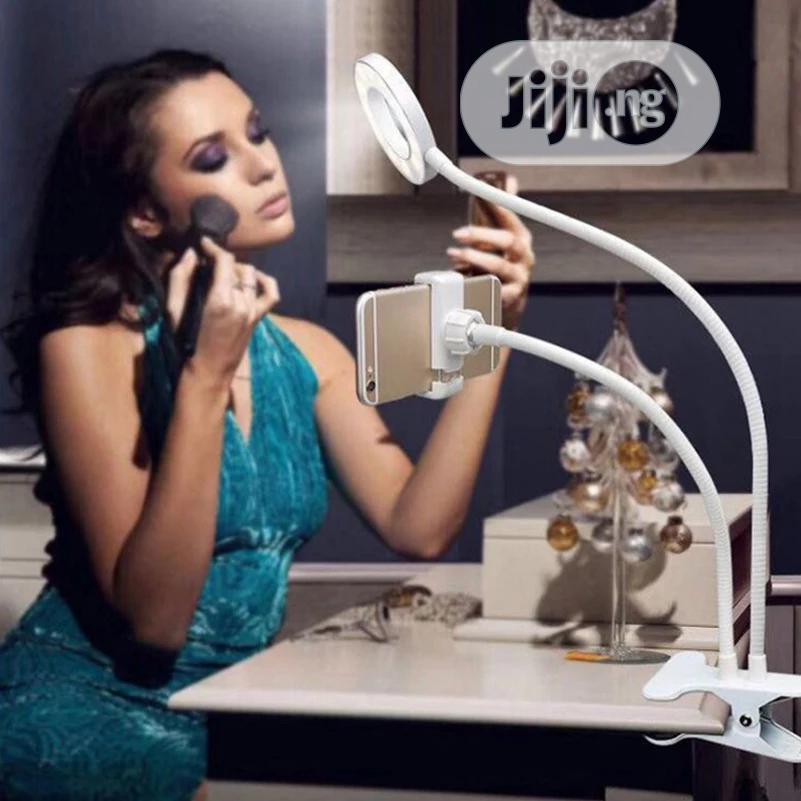 Selfie Ring Light + Phone Holder