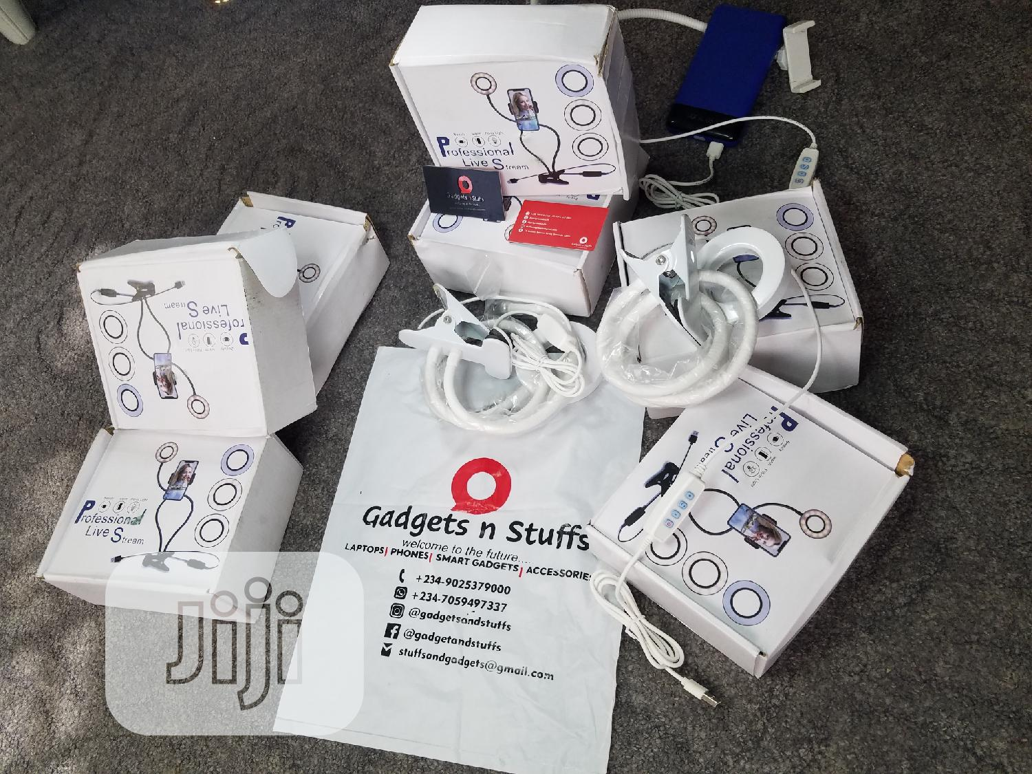 Selfie Ring Light + Phone Holder   Accessories & Supplies for Electronics for sale in Ipaja, Lagos State, Nigeria