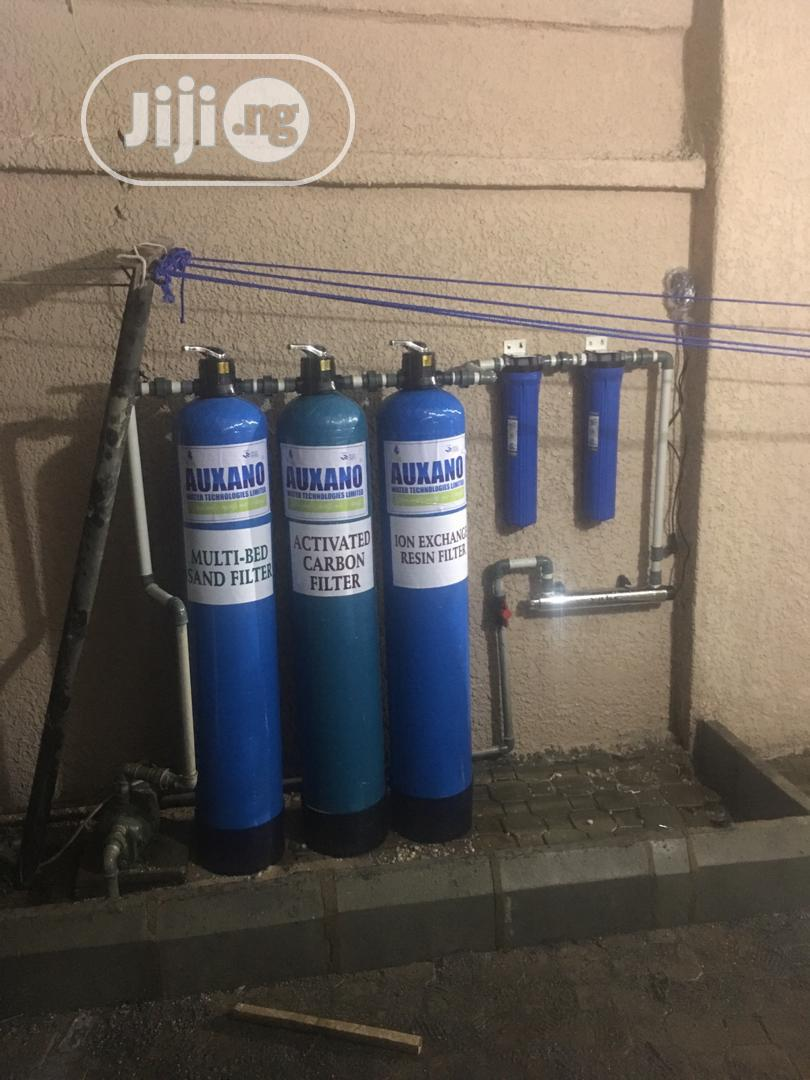 Archive: Fiberglass Treatment Plant