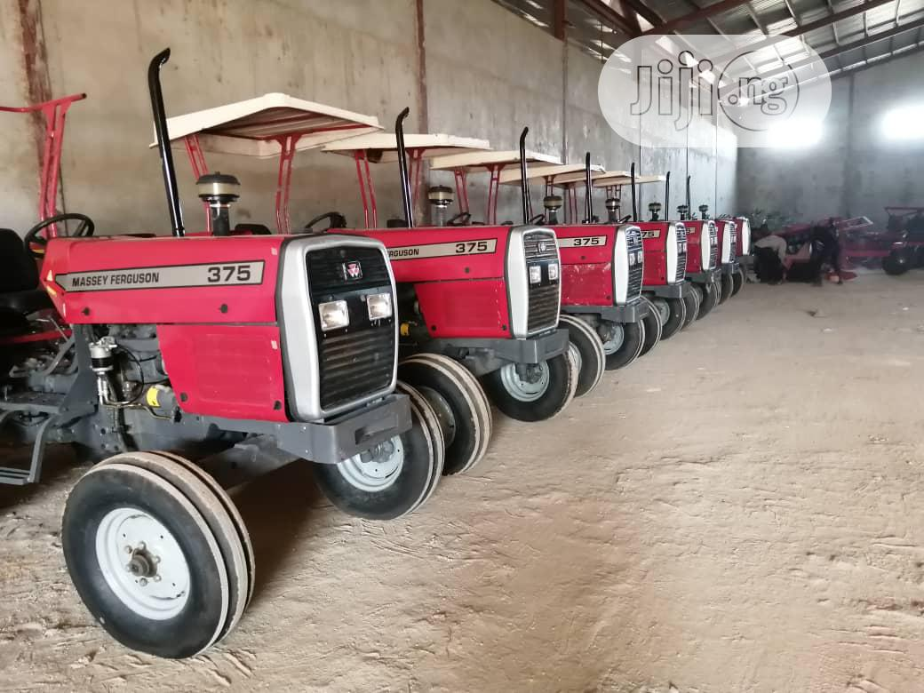Archive: Units Of MF 375 Tractors