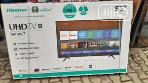 TV (Hisense Curve) | TV & DVD Equipment for sale in Lagos State, Ojo