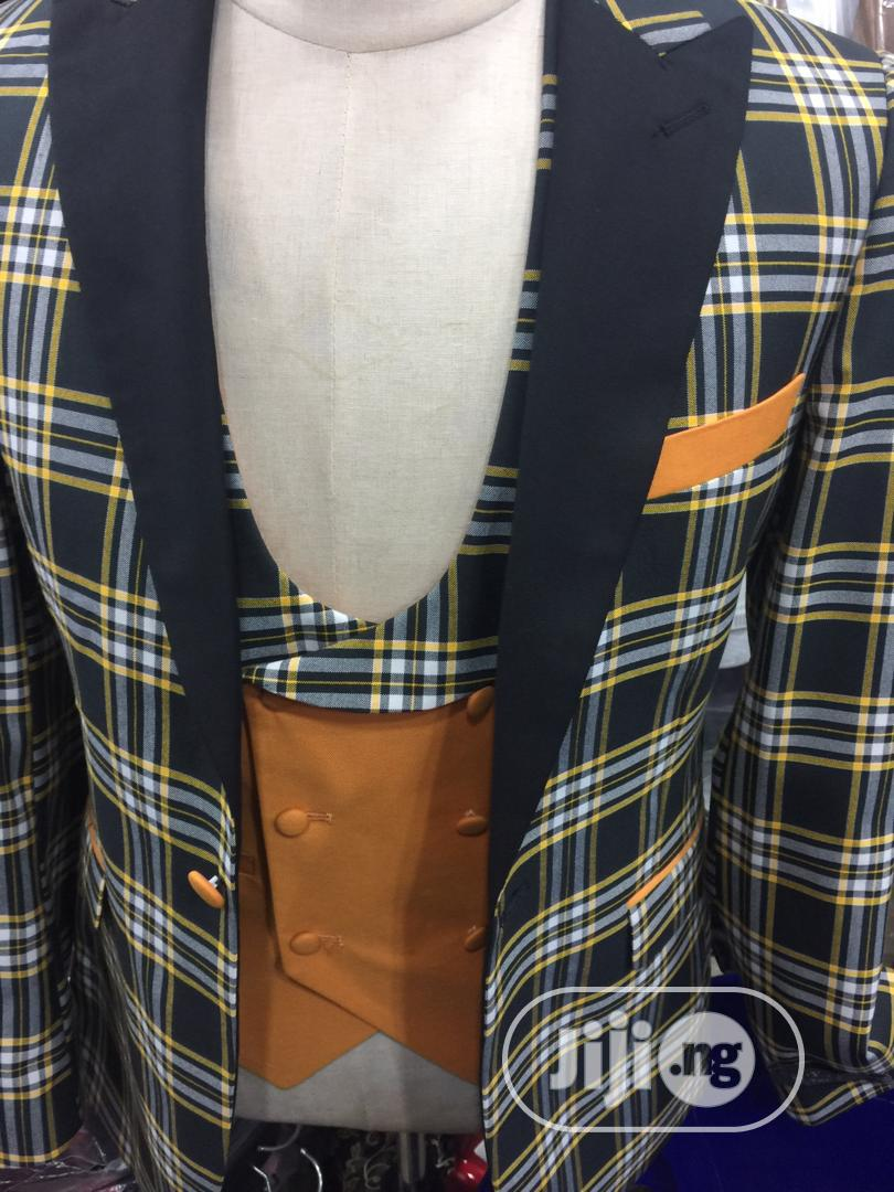 St Vincent Three Piece Suit Design, Jacket, Waistcoat ...