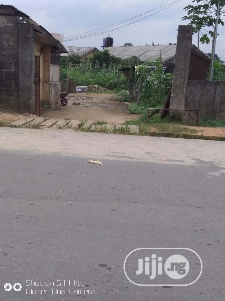 Two Plots Along Police Station Rd , Ogale , Eleme