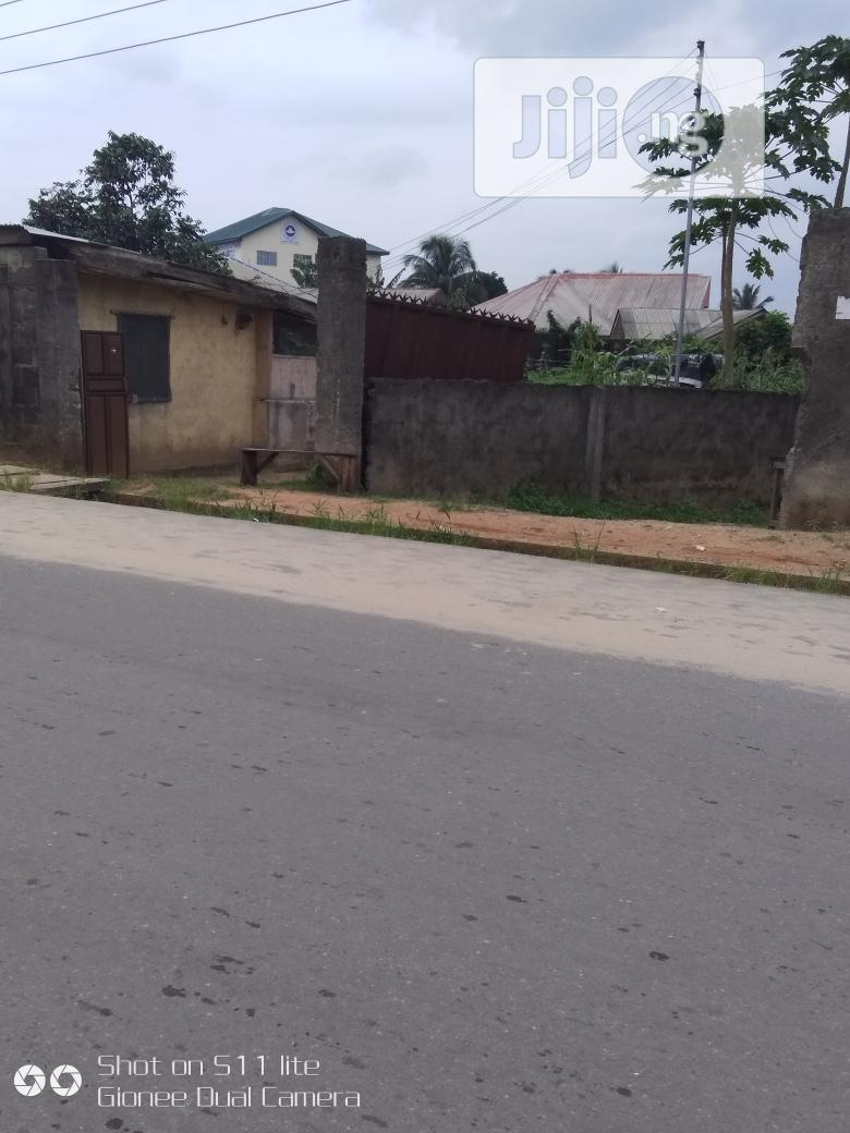 Two Plots Along Police Station Rd , Ogale , Eleme | Land & Plots For Sale for sale in Eleme, Rivers State, Nigeria