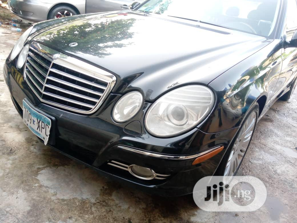 Archive: Mercedes-Benz E350 2008 Black