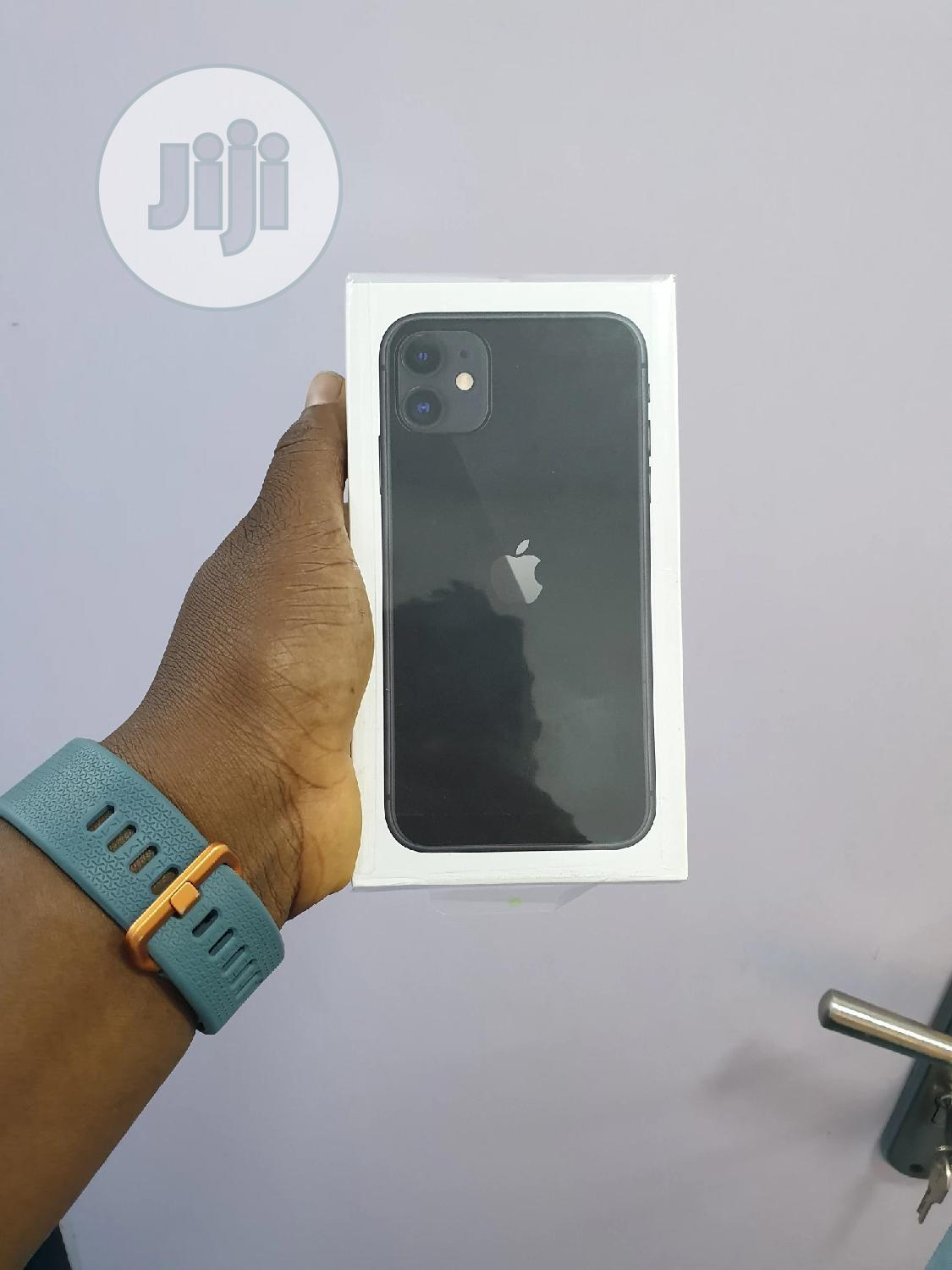 New Apple iPhone 11 128 GB Black | Mobile Phones for sale in Ajah, Lagos State, Nigeria