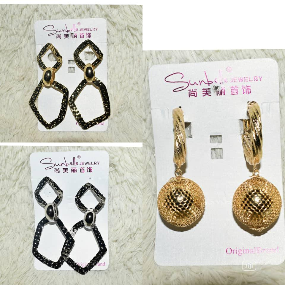Non-tarnishing Sunbelle Earring - Wholesale | Jewelry for sale in Alimosho, Lagos State, Nigeria