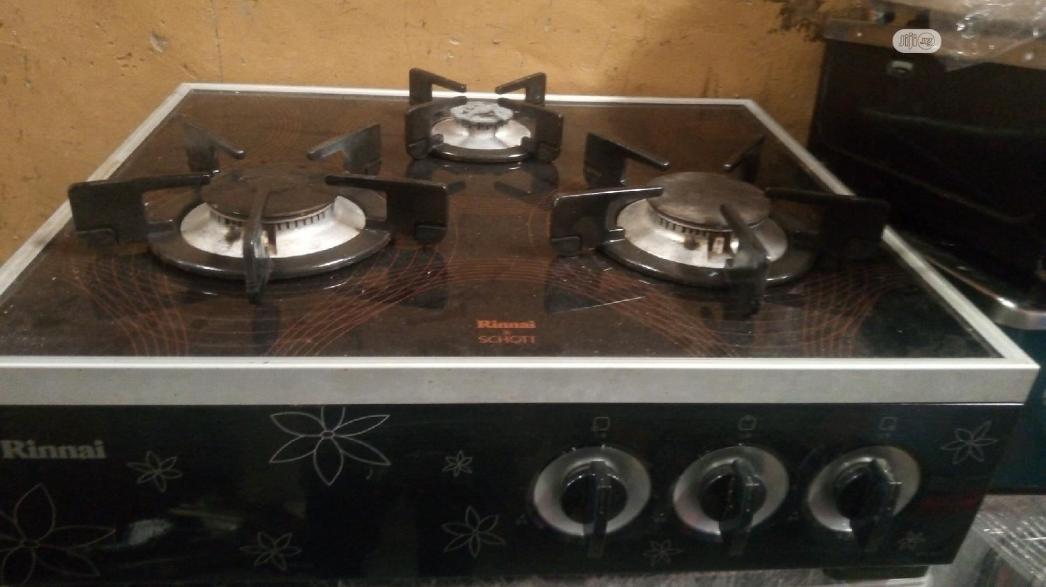 Archive: Table-top Gas Cooker Glass