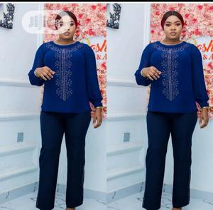 Ladies Formal Top And Palazzo Trouser | Clothing for sale in Lagos State, Ikeja