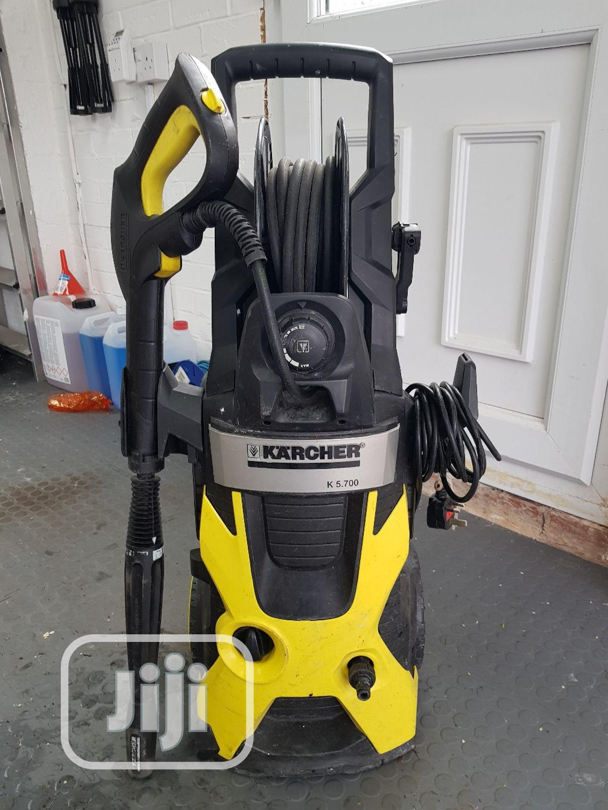 Karcher K5.7 High Pressure Washer For Both Private/Commerce | Garden for sale in Ikeja, Lagos State, Nigeria