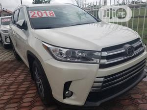Toyota Highlander 2018 XLE 4x4 V6 (3.5L 6cyl 8A) White   Cars for sale in Lagos State, Ajah