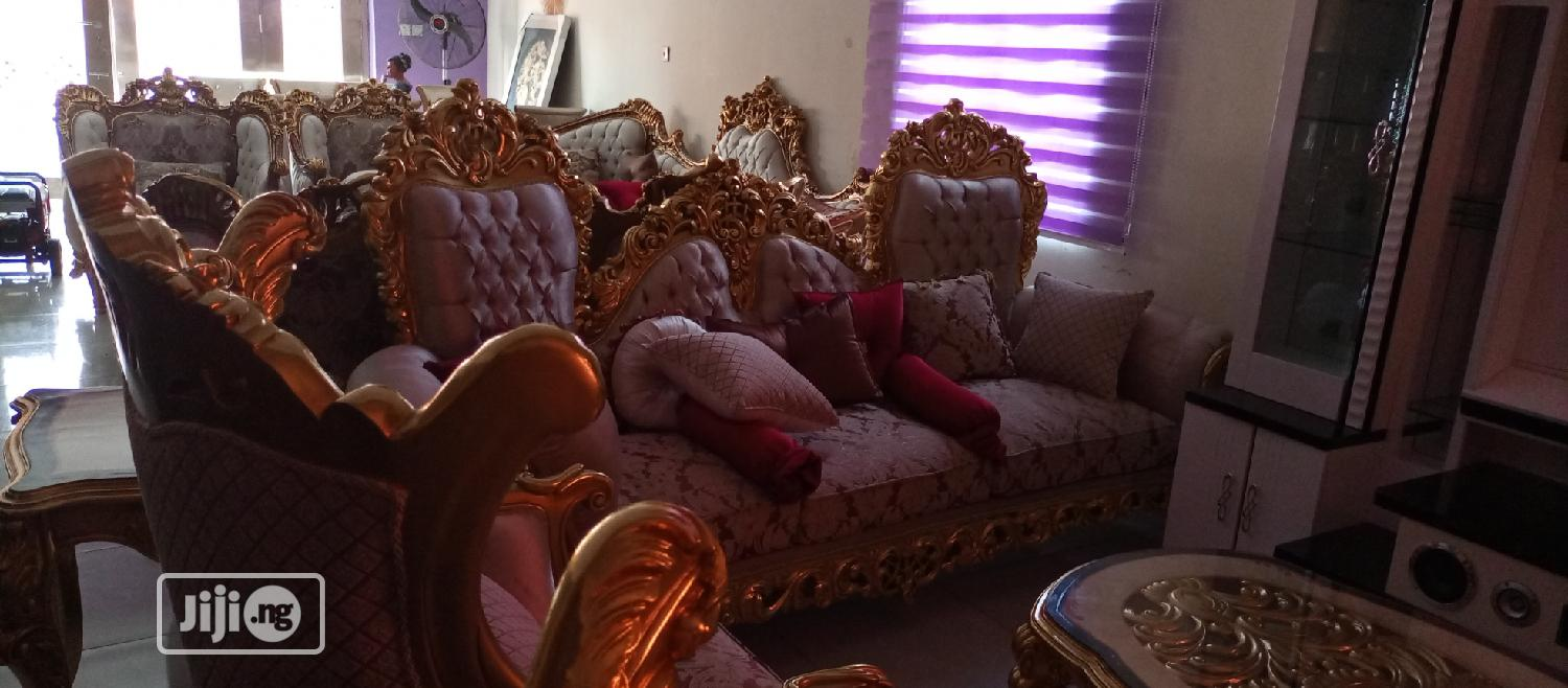 Egyptian Royal Sofa Chairs | Furniture for sale in Ojo, Lagos State, Nigeria