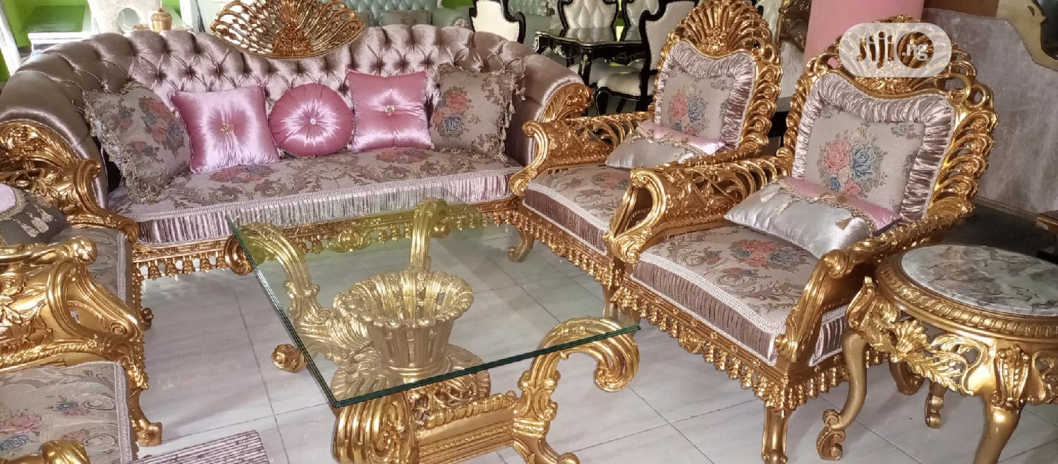 Egyptian Royal Sofa Chair | Furniture for sale in Ojo, Lagos State, Nigeria