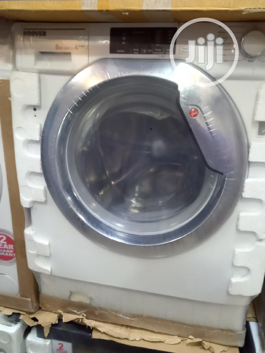 Strong Hoover Washing Machine With Washing And Spinning 8 Kg
