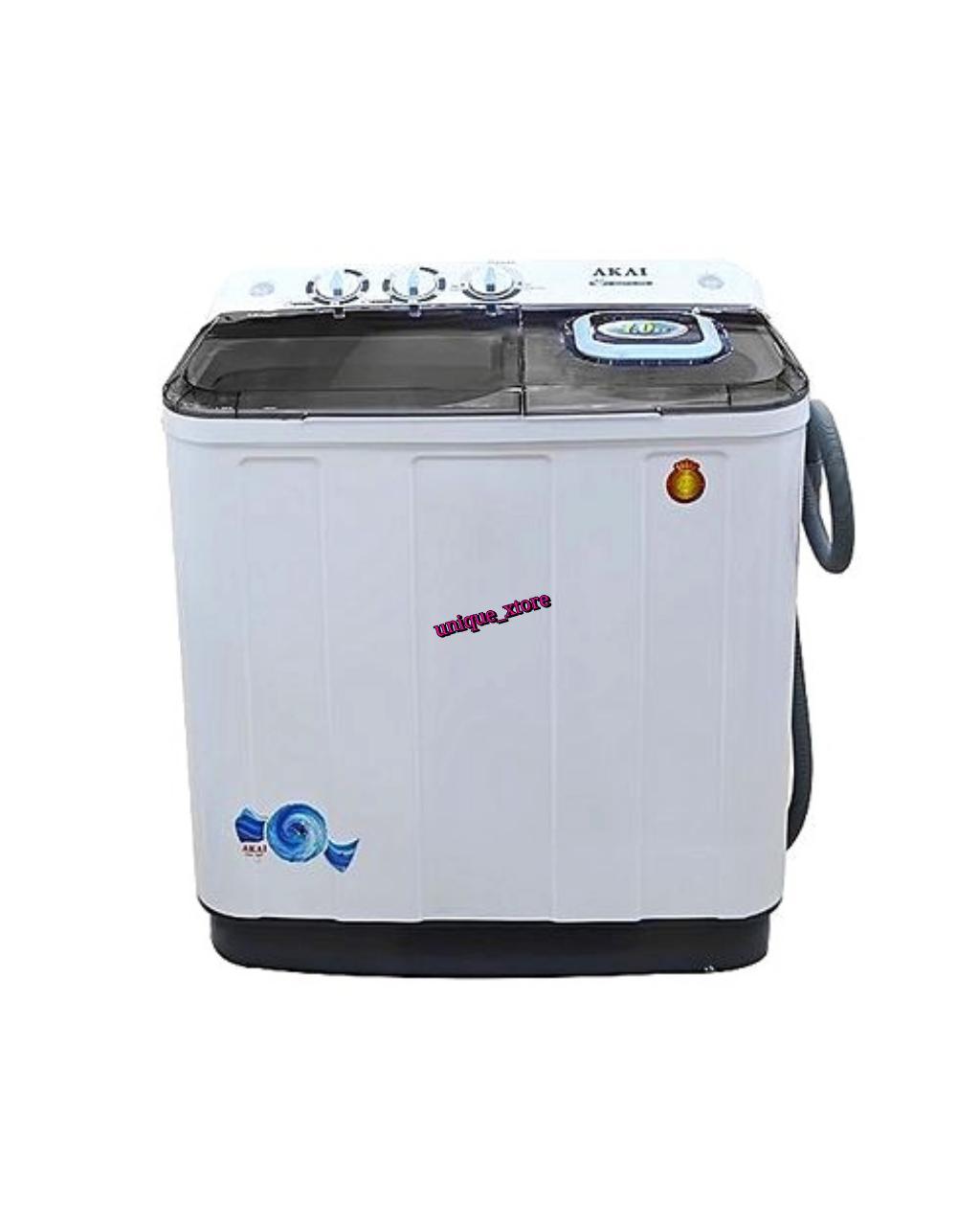 AKAI 7.0kg Twin Tub Washing Machine - SPINNING + DRAINING
