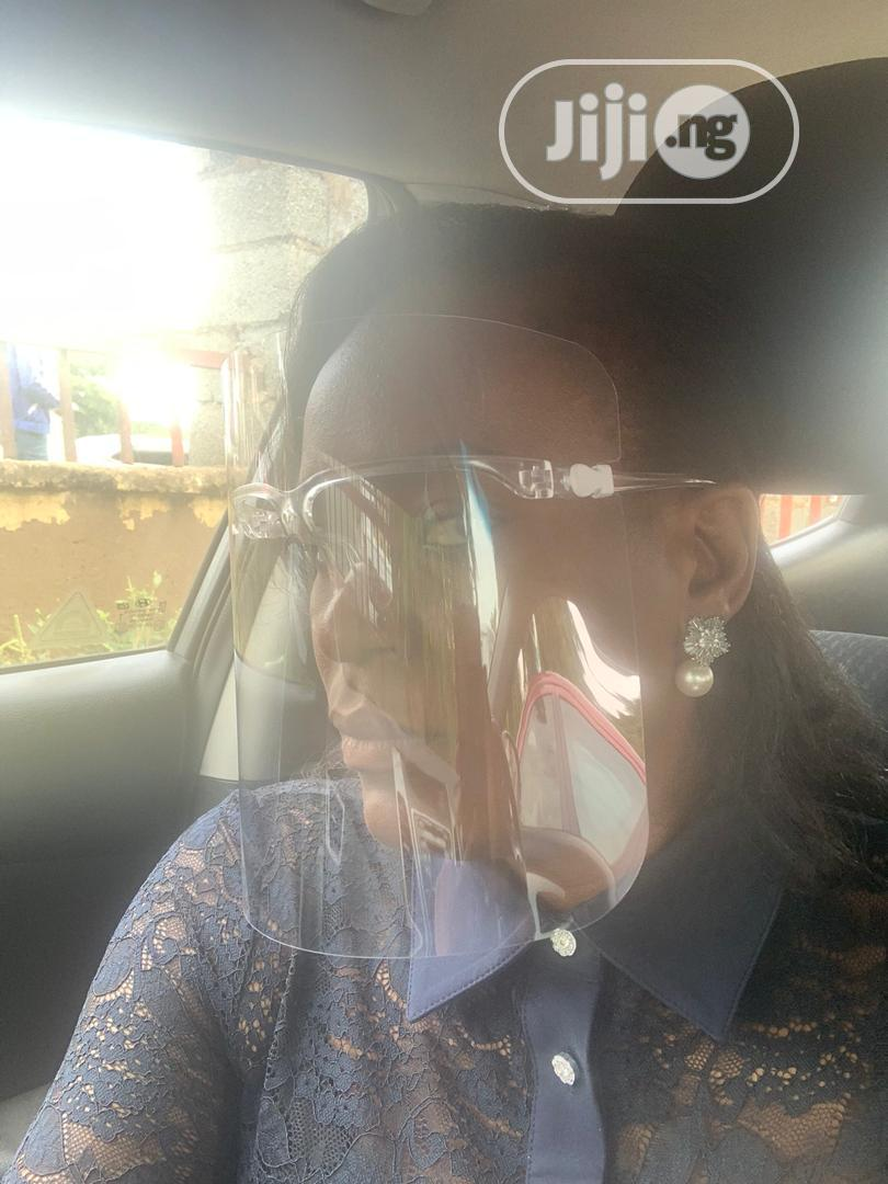 Archive: Google/Glasses Face Shield