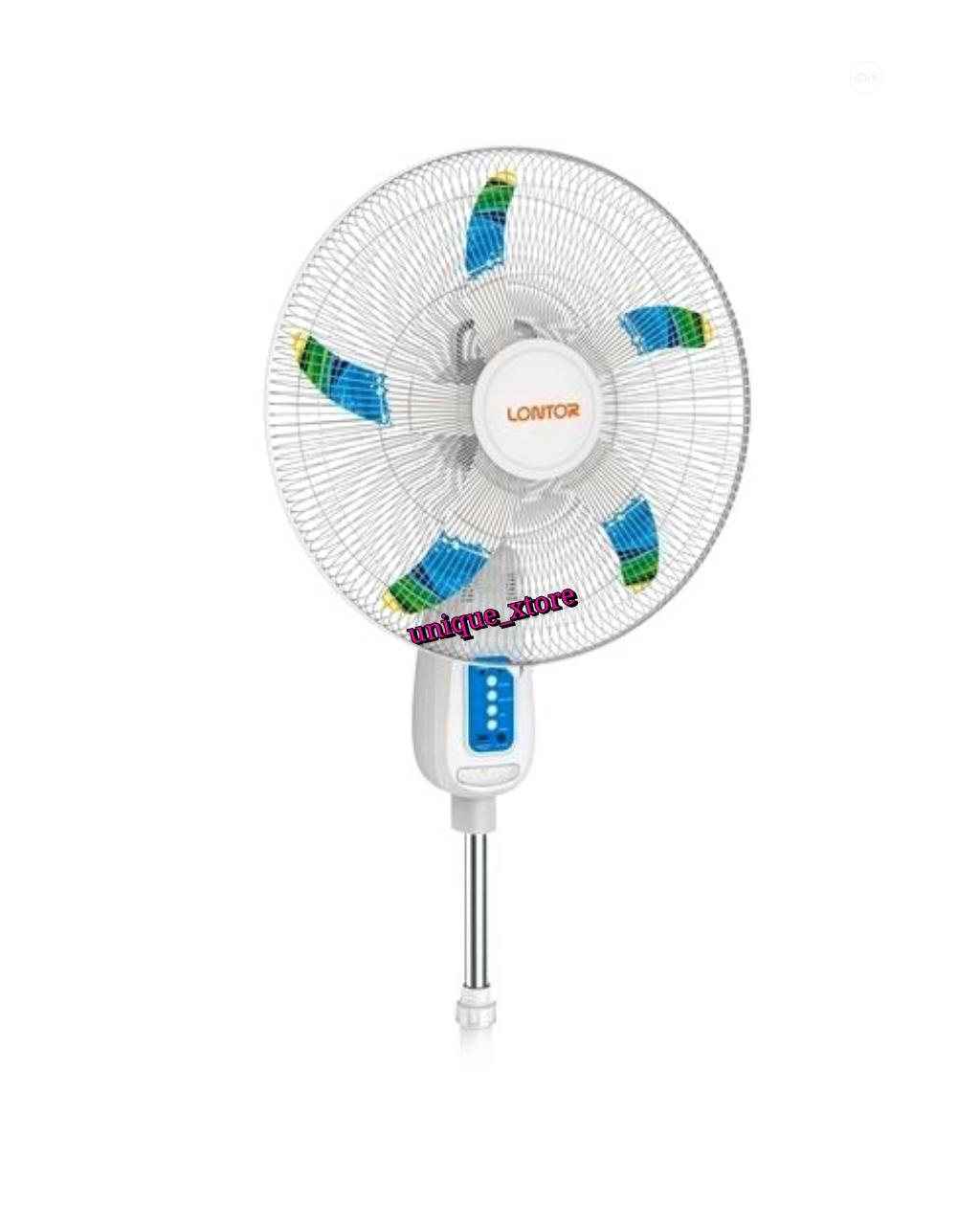 Lontor 18-inch Rechargeable Standing Fan - White