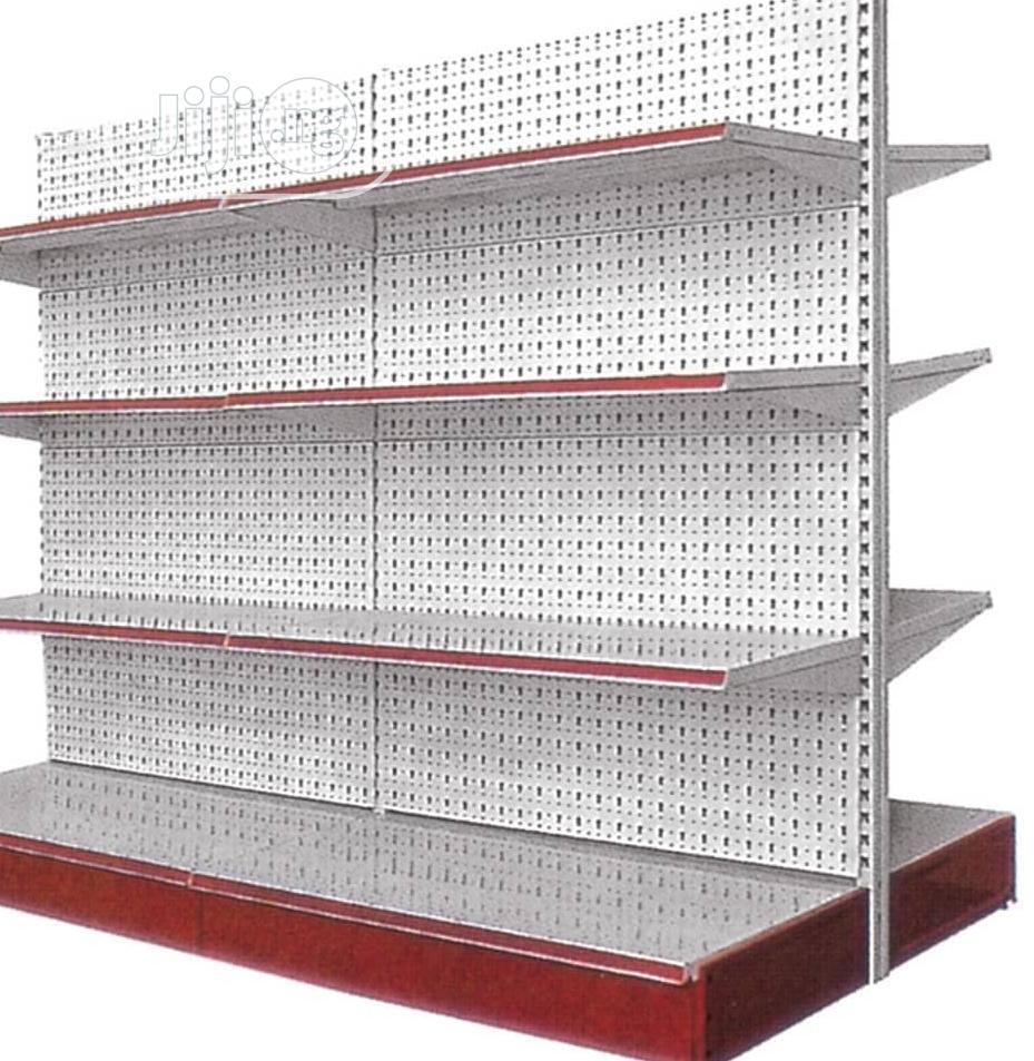 Supermarket Shelf (Red)