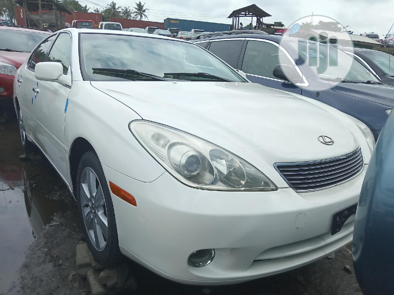 Lexus ES 2005 330 White