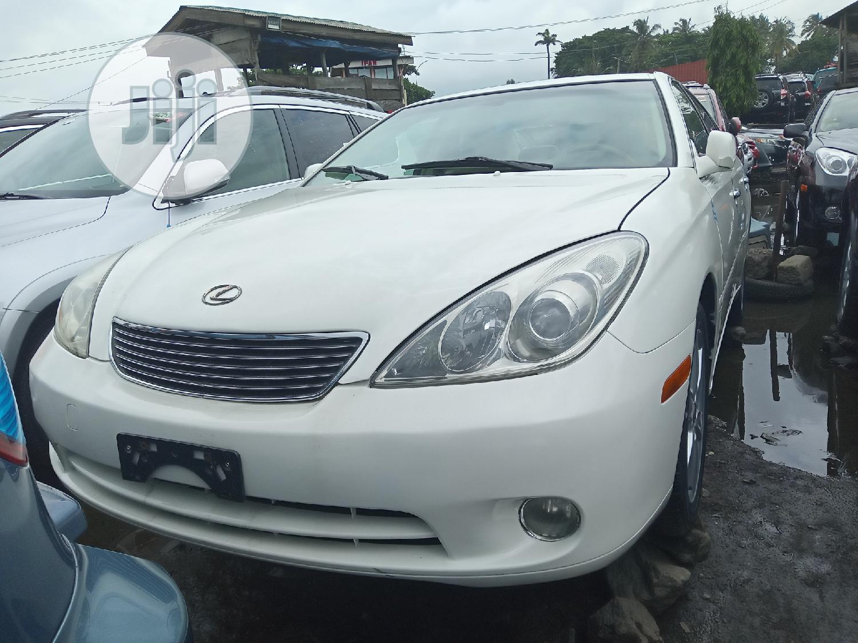 Lexus ES 2005 330 White | Cars for sale in Apapa, Lagos State, Nigeria
