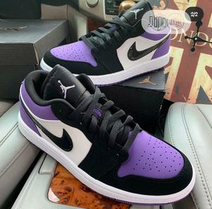 Air Jordan 1 Low (Court Purple)   Shoes for sale in Lagos State, Magodo