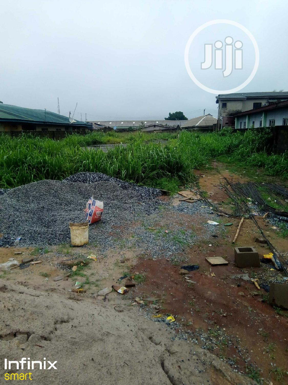 Half Plot Of Land In A Serene Environment
