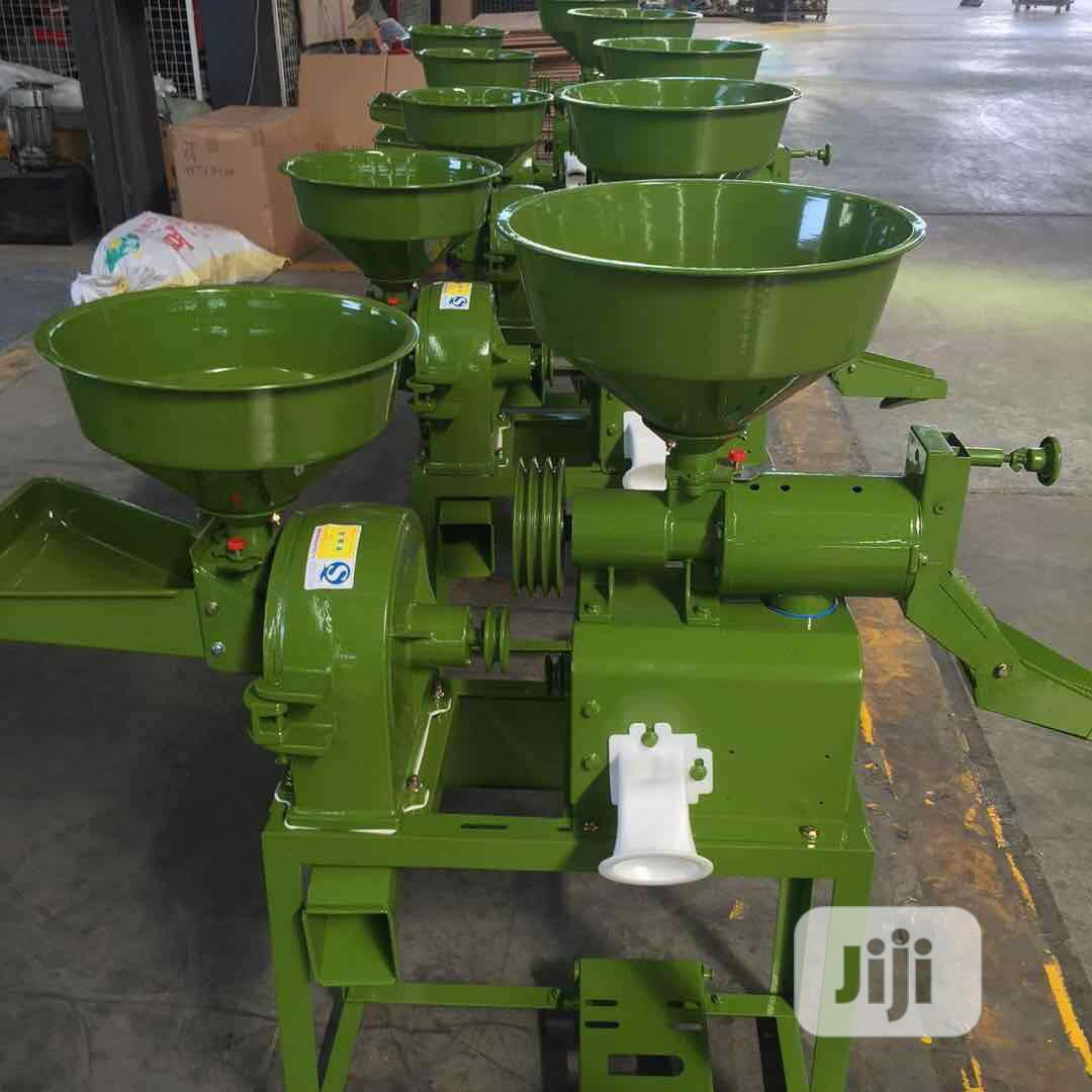 Combine Rice Mill With Crusher