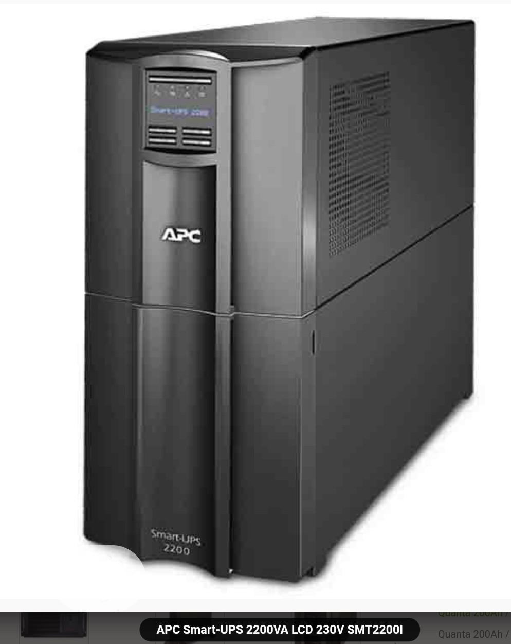 APC Smart-ups 2200va LCD 230V Smt2200i 1980 Watts /2200 Va,