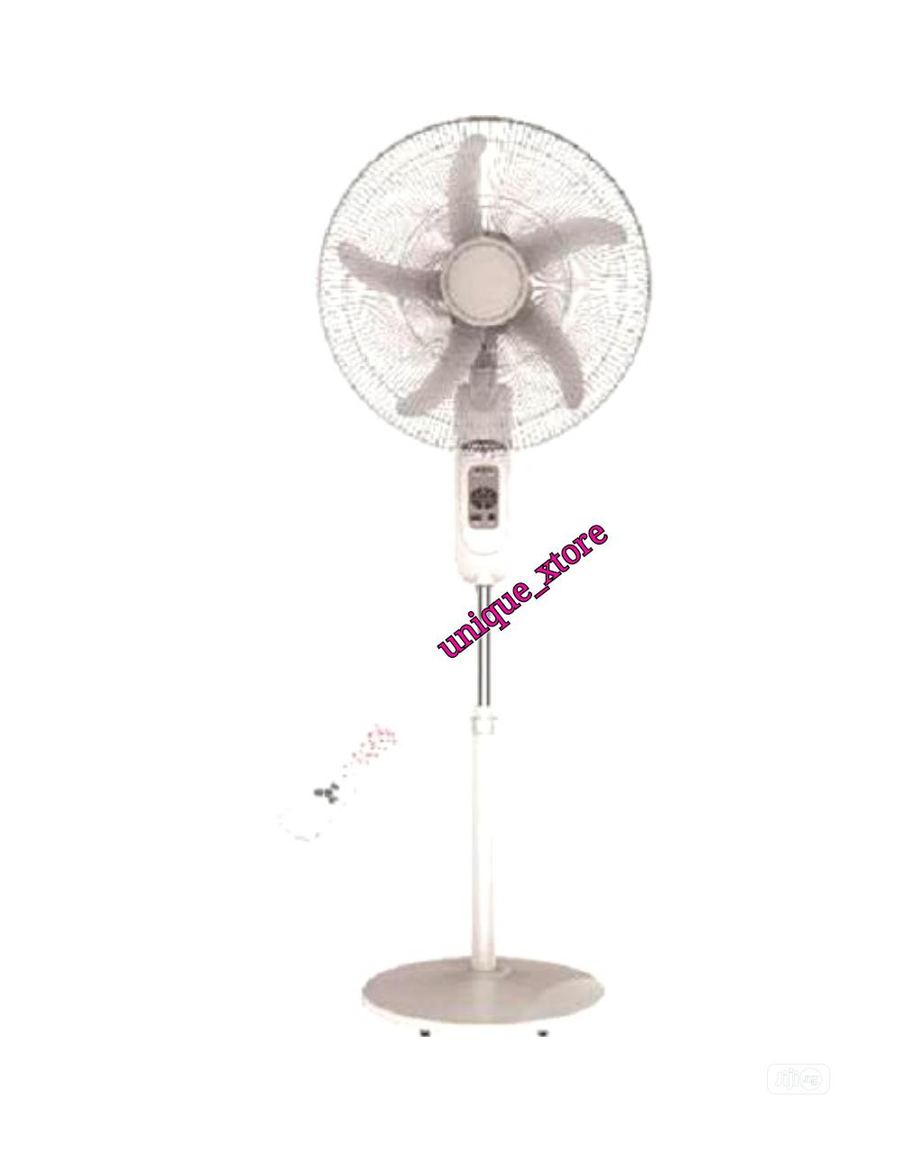 """Sonik 16 """" Rechargeable Fan With Remote"""