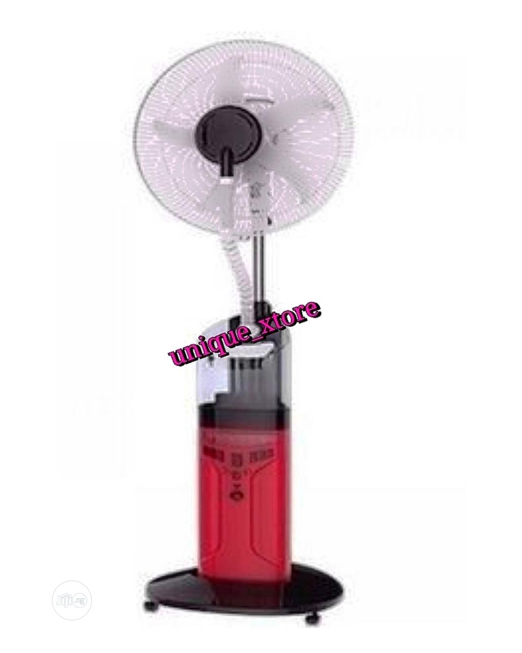 """Sonik 18"""" Rechargeable Water Mist Fan With Remote USB 