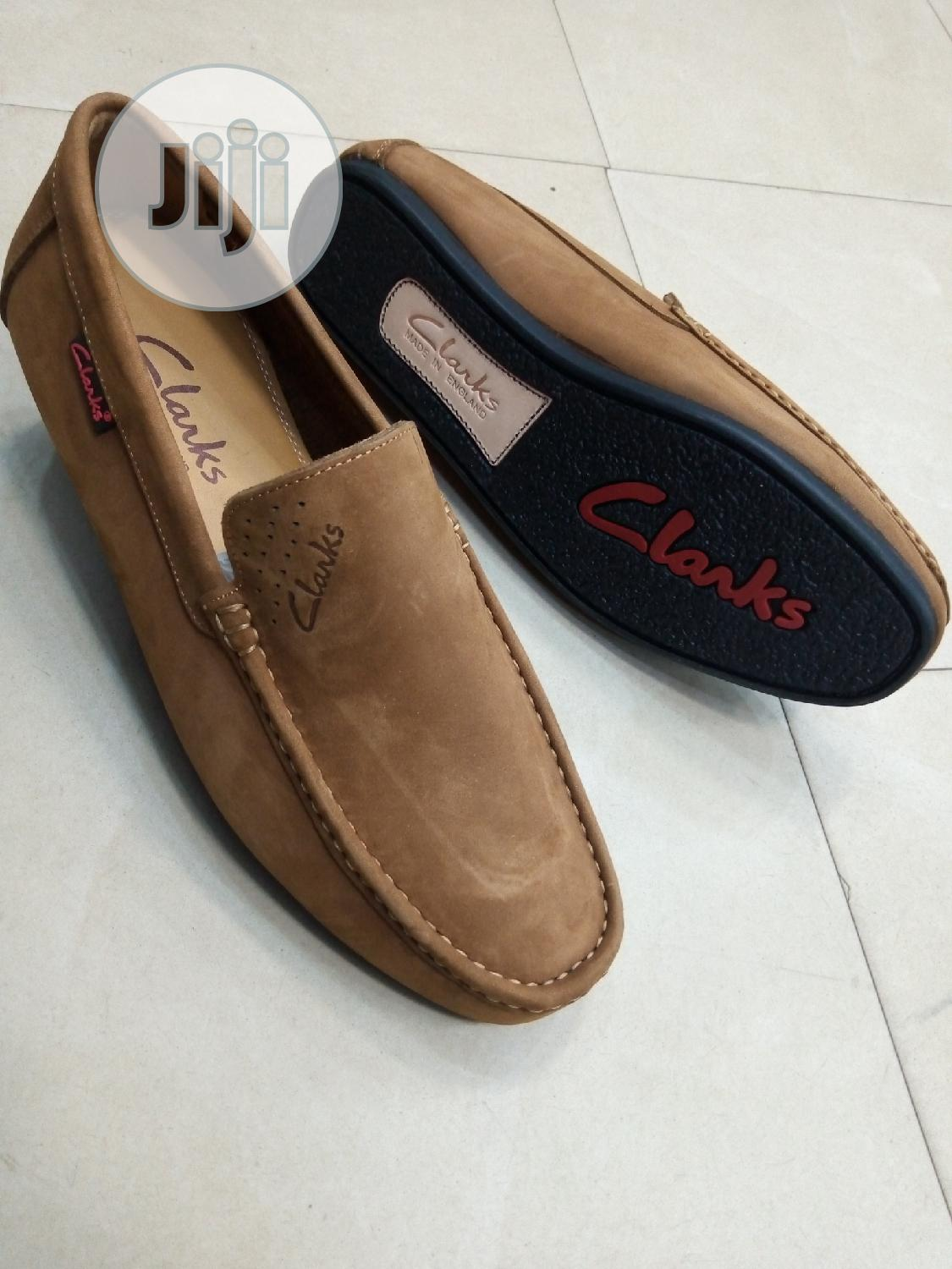 Quality Mens Loafers Clark Leather