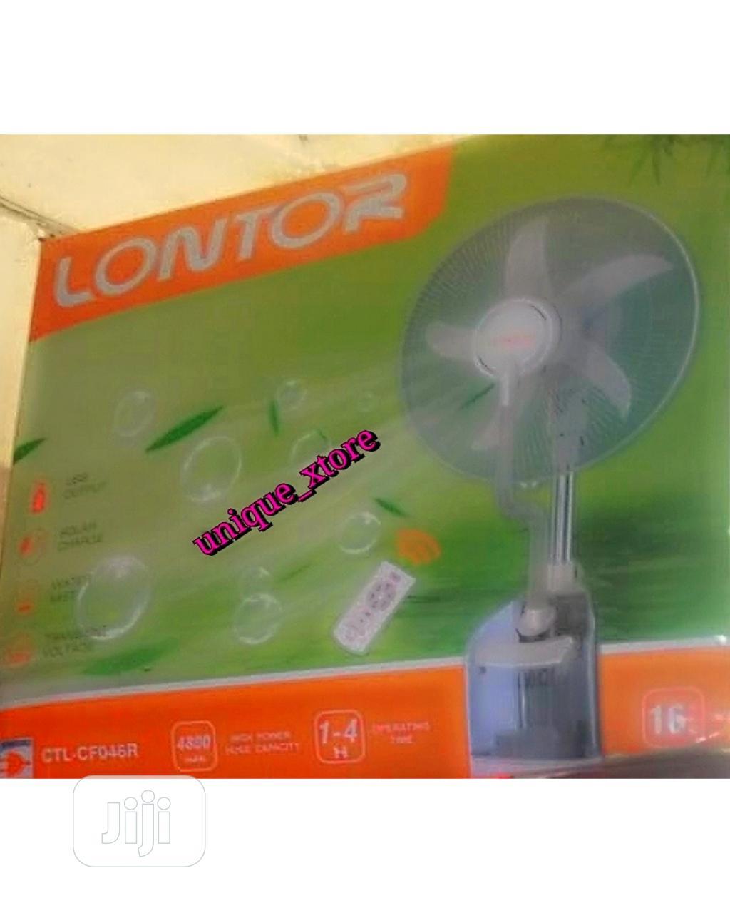 Lontor Rechargeable Mist Fan