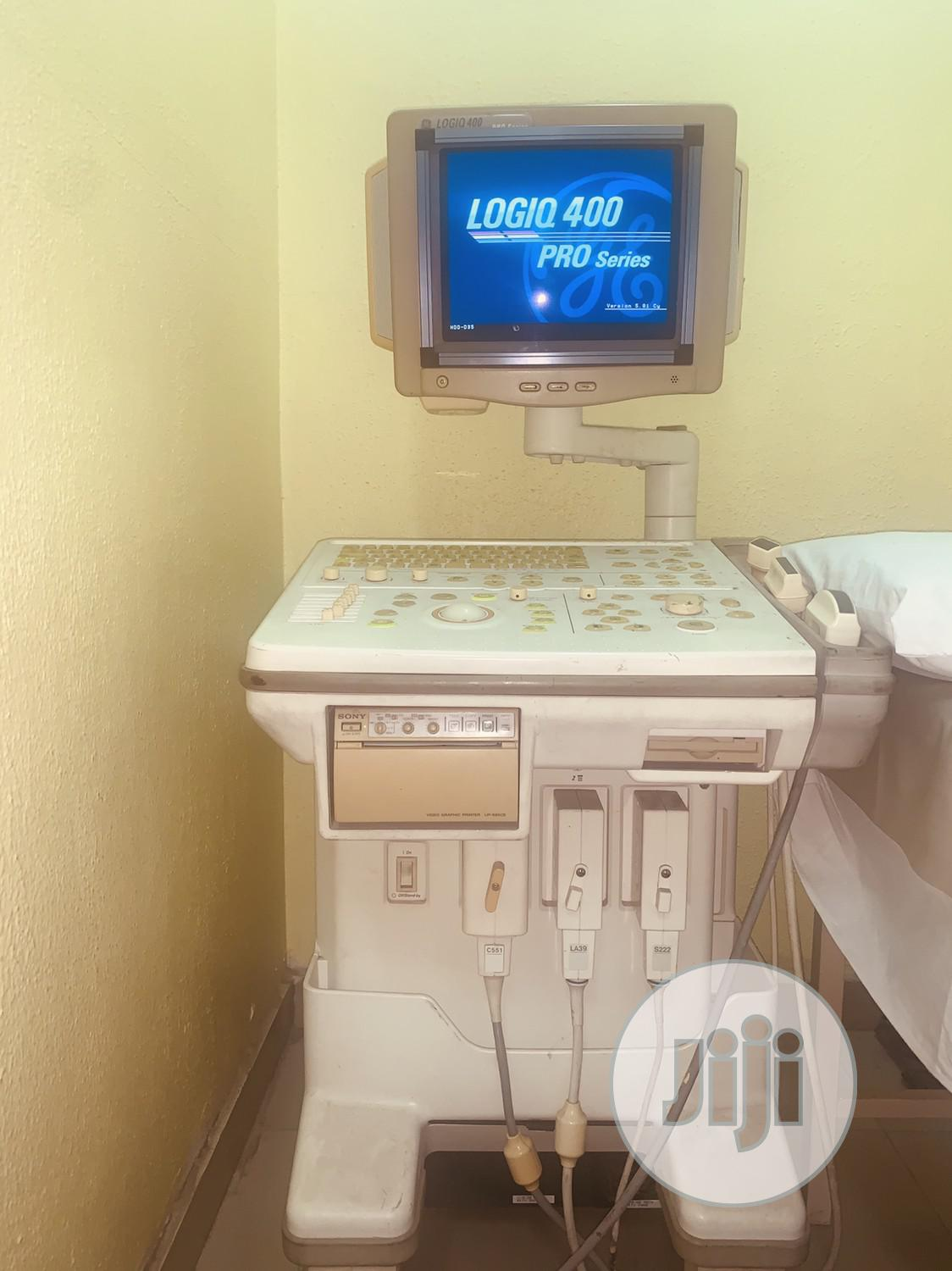 Archive: GE Logiq 400 Pro Ultrasound 3 Probes & Sony Printer (Used)