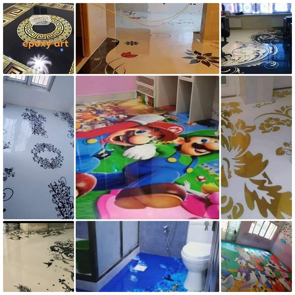 3D Epoxy, Metallic, Wall Moral Jobs And Training   Building & Trades Services for sale in Ikeja, Lagos State, Nigeria