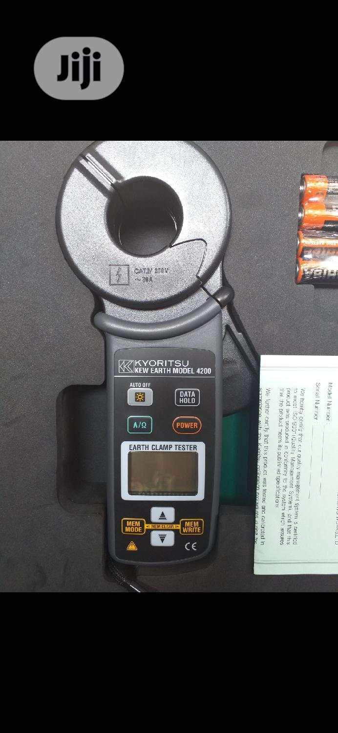 Kyoritsu Digital Earth Clamp | Measuring & Layout Tools for sale in Ojo, Lagos State, Nigeria