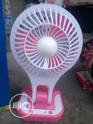 Rechargeable Fan With LED Light | Home Appliances for sale in Rivers State, Obio-Akpor