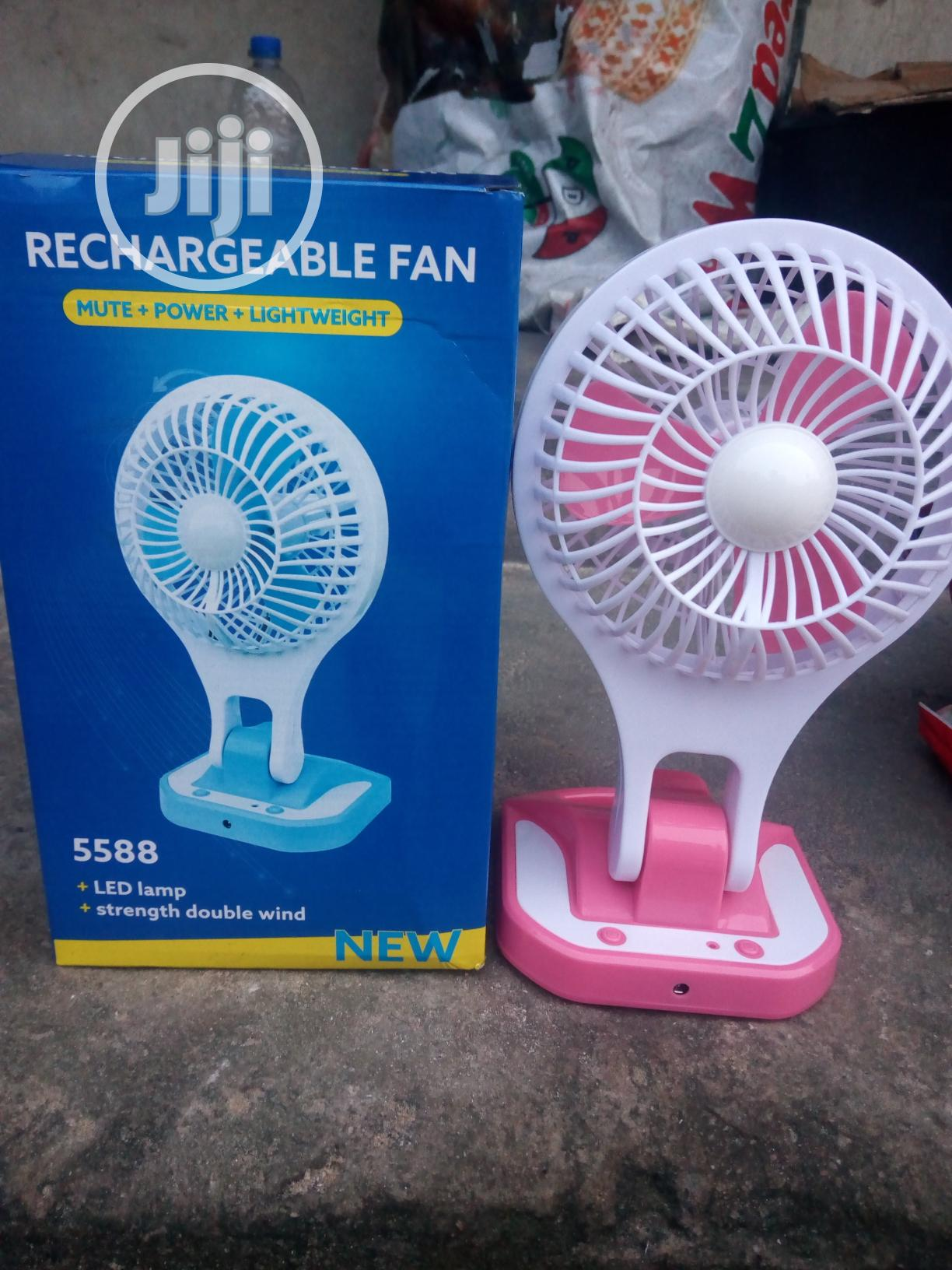Archive: Table Top Rechargeable Fan With LED Light