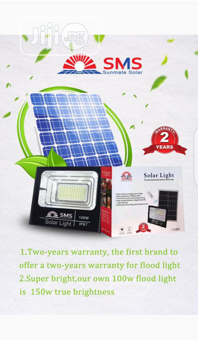 SMS SMS 200w All In One Solar Flood Light