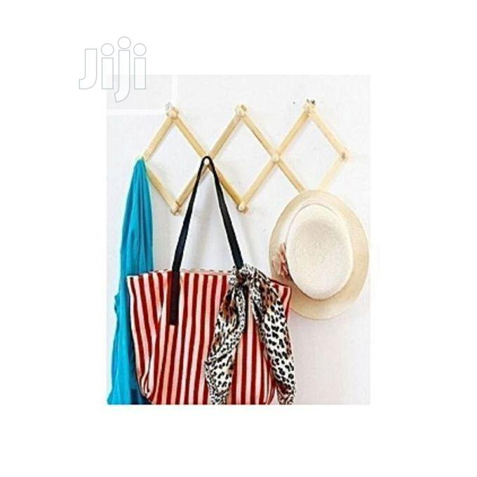Archive: Multipurpose Wooden Wall Hanger for Bags, Scarves Etc